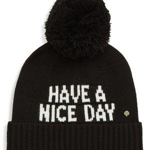 Kate Spade Beanie Hat
